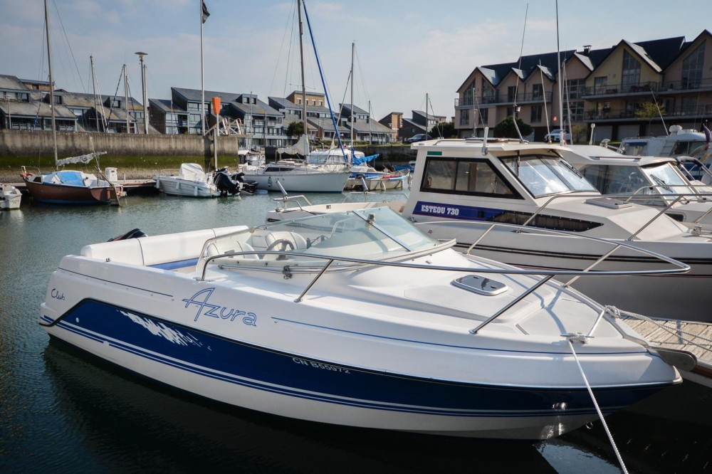 Boat rental Kelt Azura 600 in Deauville on Samboat