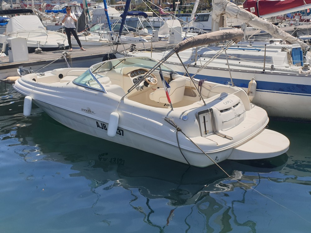 Verhuur Motorboot in Porto-Vecchio - Sea Ray Sea Ray 210 Sundeck