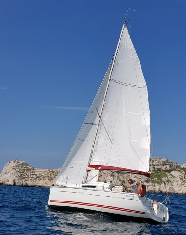 Segelboot mieten in Marseille - Jeanneau Sun Fast 26