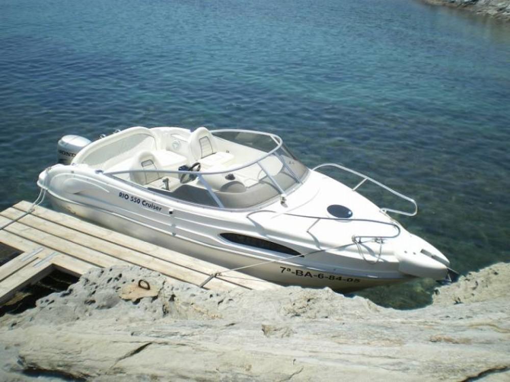 Alquiler de barcos Hendaya barato de Rio cruiser 550