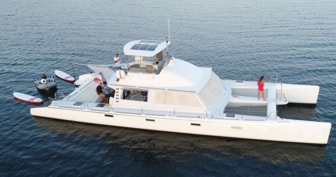 Boat rental Catamaran Modèle unique in Cogolin on Samboat