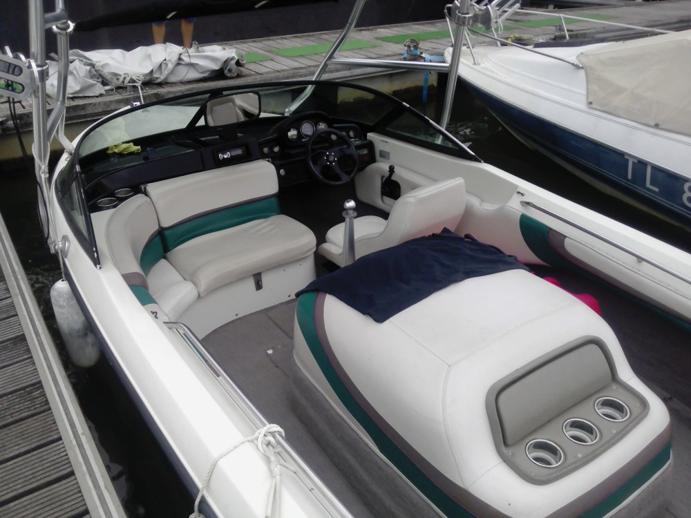 Rental Motor boat in Savines-le-Lac - Mastercraft Pro Star 190