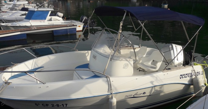 Location bateau Quicksilver Quicksilver 525 Flamingo à Cobres sur Samboat