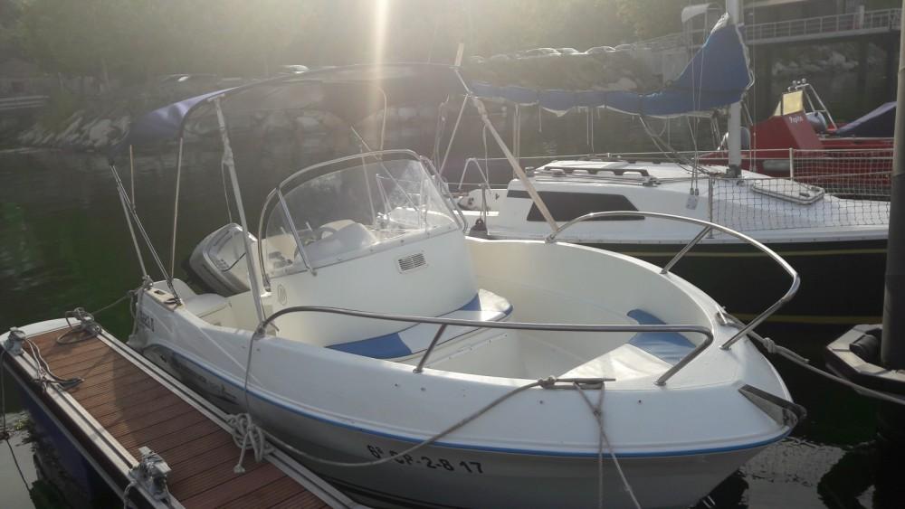 Location bateau Quicksilver Quicksilver 525 Flamingo à Pontevedra sur Samboat