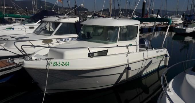 Louer Bateau à moteur avec ou sans skipper Mery Nautic à Vilaboa