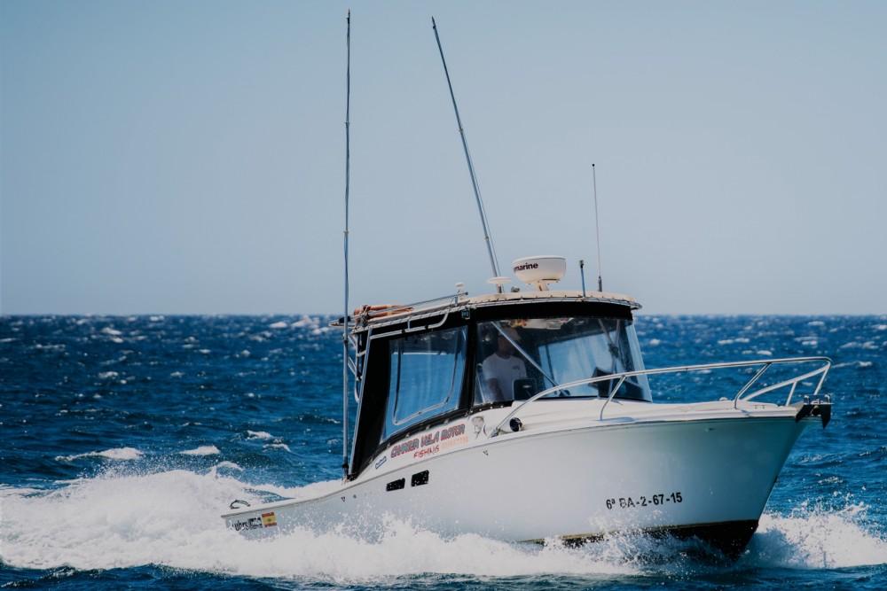Motorboot mieten in Kanarische Inseln zum besten Preis