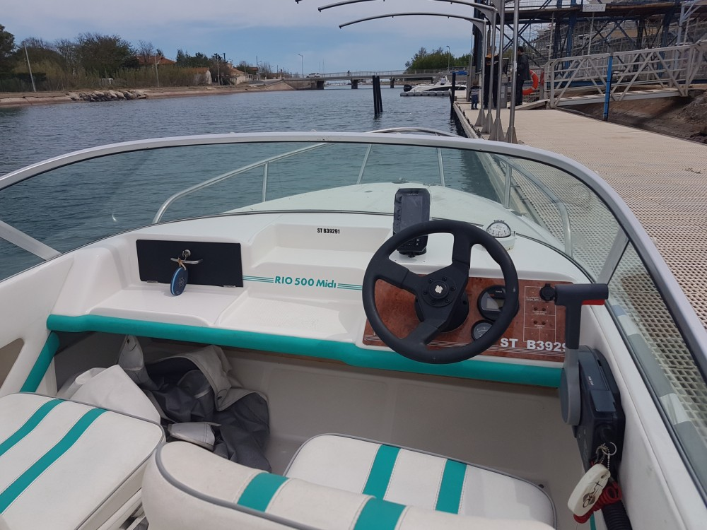 Boat rental Marseillan cheap 500 midi