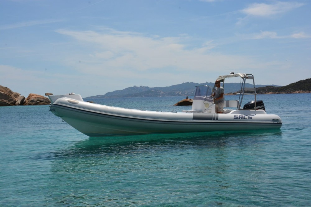 Hire RIB with or without skipper Sacs Sardinia