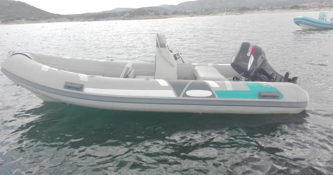 Rental RIB in Porto Rotondo - Italboats Stingher 484