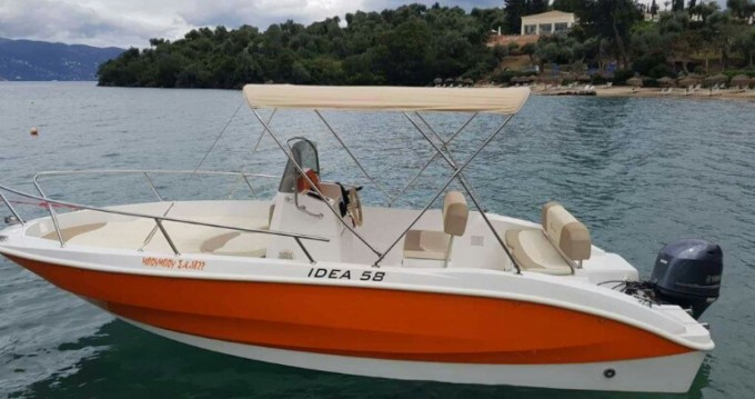 Boat rental Corfu cheap Deluxe 58