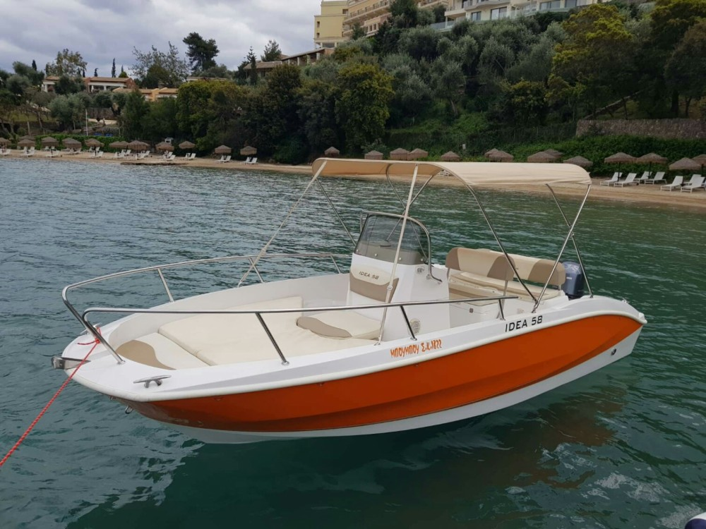 Motor boat for rent Corfu at the best price