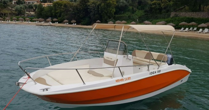 Rental Motor boat in Corfu - Idea Deluxe 58