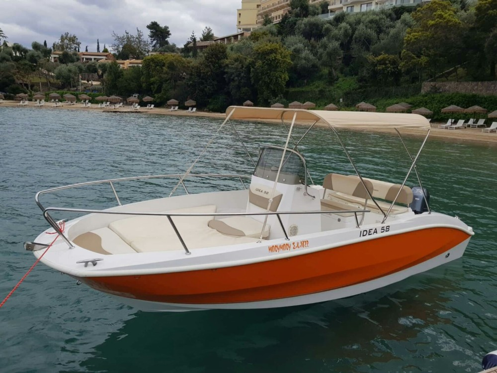 Idea Deluxe 58 between personal and professional Corfu