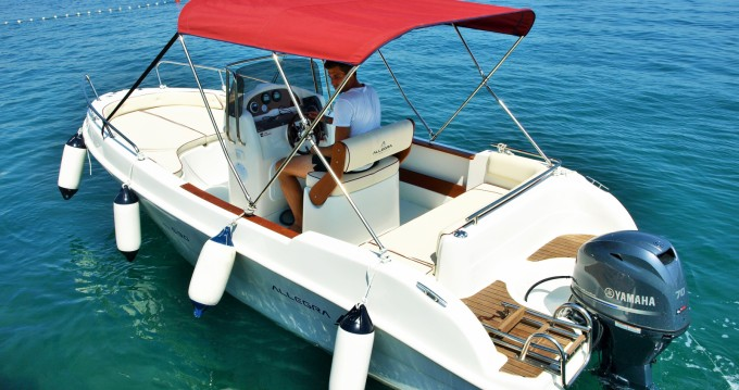 Allegra Boats ALL 590 between personal and professional Opatija