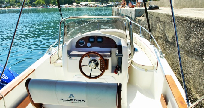 Rental yacht Opatija - Allegra Boats ALL 590 on SamBoat
