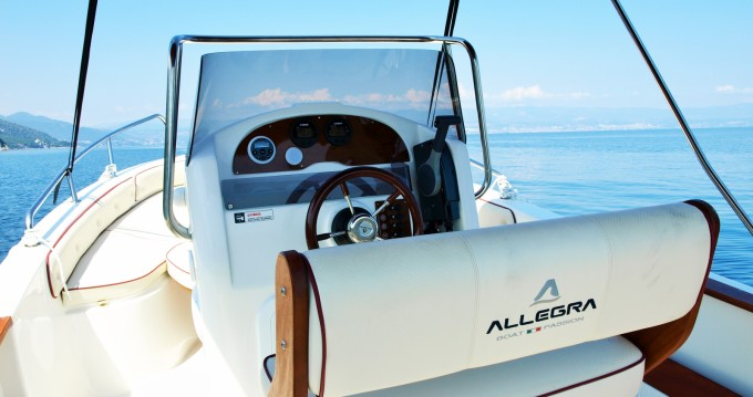 Boat rental Allegra Boats ALL 590 in Opatija on Samboat