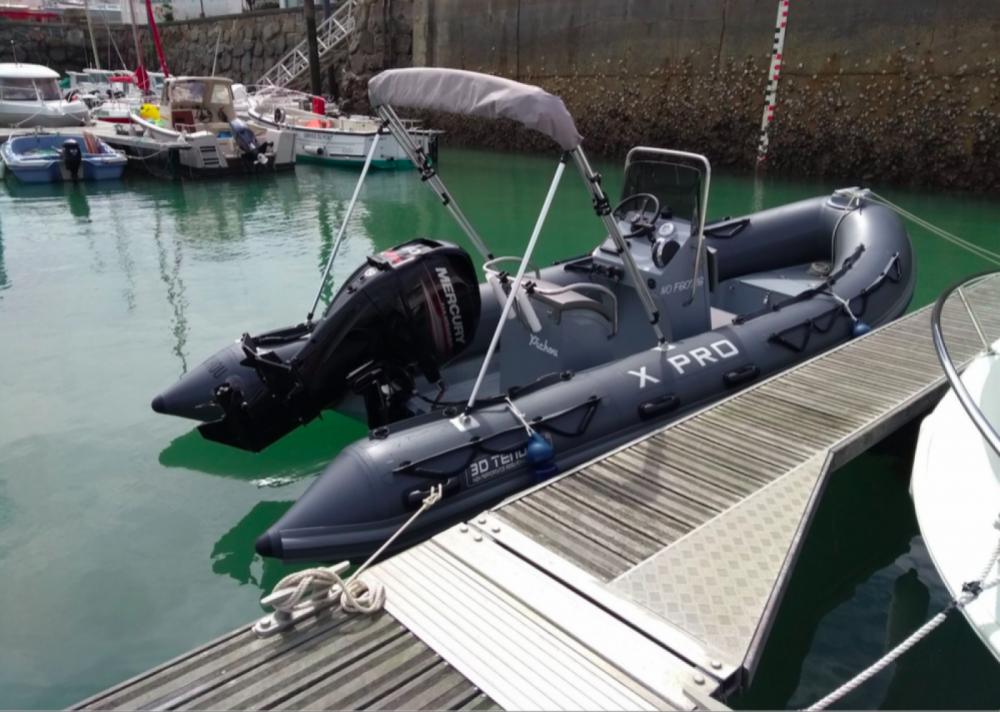 Boat rental La Turballe cheap X Pro 535