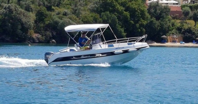 Rental Motor boat Italmar with a permit