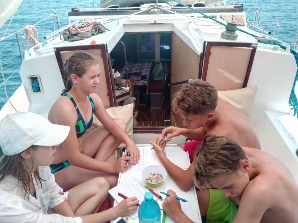 Rental Sailboat Plan-Caroff with a permit