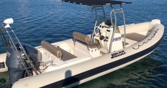 Joker Boat Clubman 23 zwischen Privatpersonen und professionellem Anbieter Porto-Vecchio
