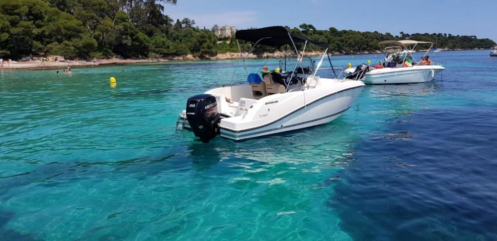 Location bateau Quicksilver Activ 555 Open à Mandelieu-La Napoule sur Samboat