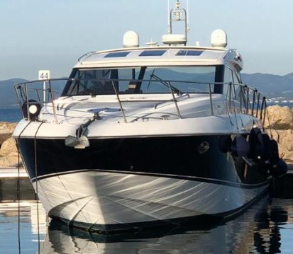 Location bateau Princess Princess V53 à Bormes-les-Mimosas sur Samboat