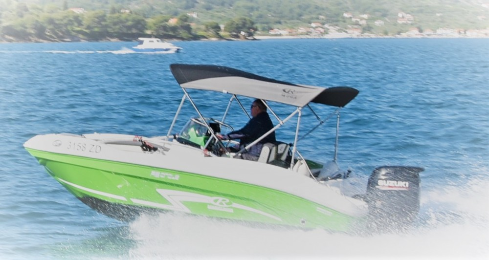 Hire Motor boat with or without skipper Rancraft Zadar