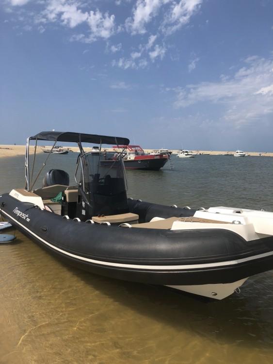 Boat rental Arcachon cheap Tempest 700