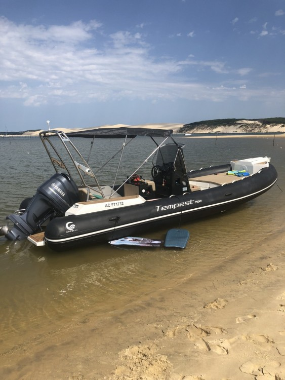 Boat rental Arcachon cheap Tempest 700