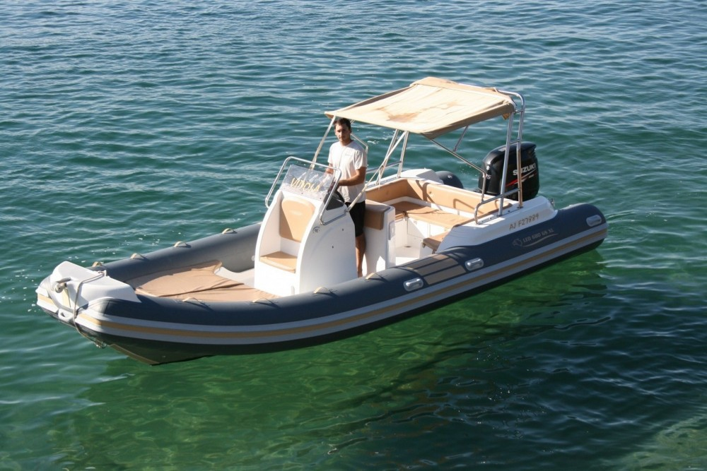 Boat rental Propriano cheap Nautica Led 680 GS XL