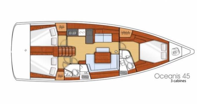 Location yacht à Hyères - Bénéteau Oceanis 45 sur SamBoat