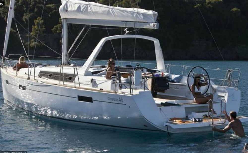 Boat rental Hyères cheap Oceanis 45