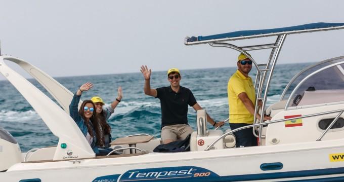 Location yacht à Palma de Majorque - Capelli Tempest 900 WA sur SamBoat