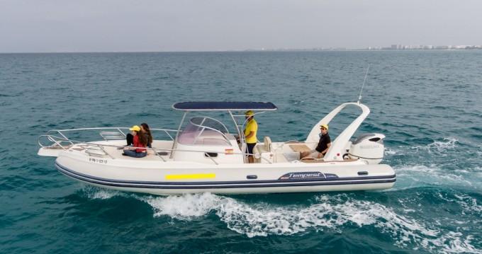 Location bateau Capelli Tempest 900 WA à Palma de Majorque sur Samboat