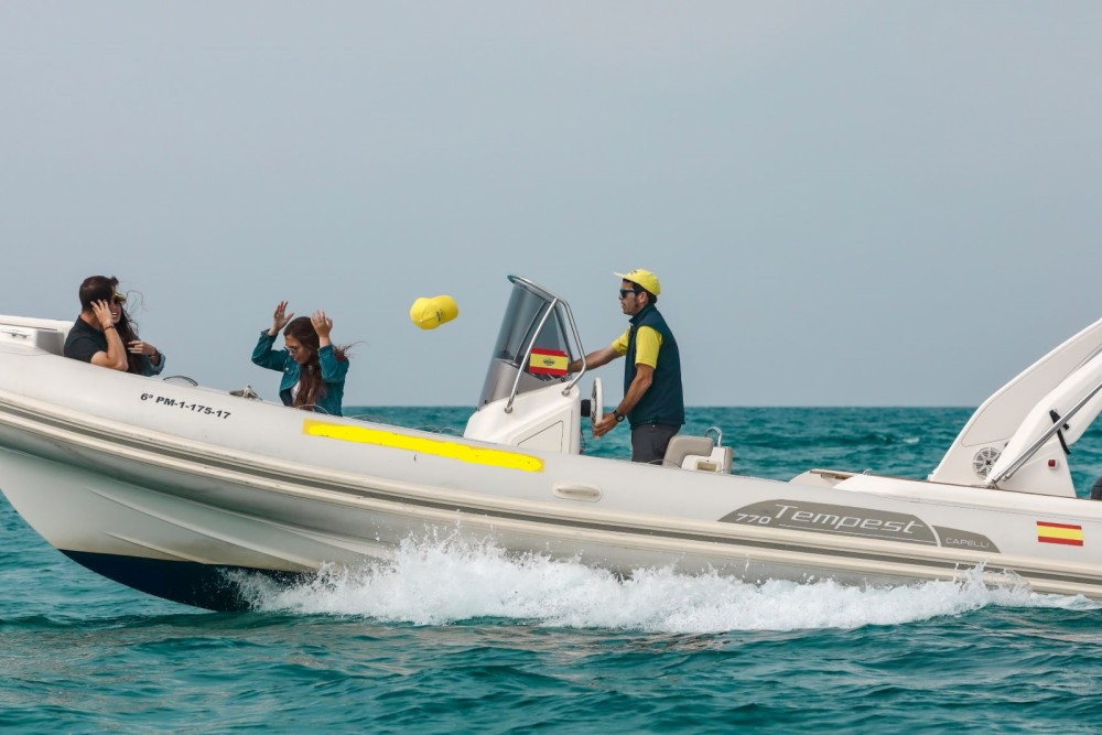 Boat rental Palma cheap Tempest 770