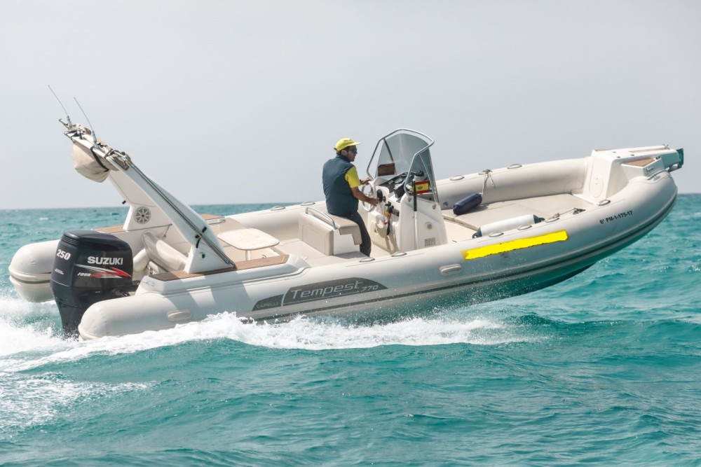 Hire RIB with or without skipper Capelli Palma
