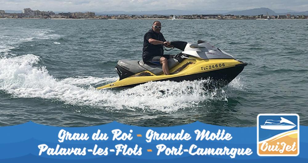 Louez un Sea-Doo GTX 185CV à La Grande-Motte