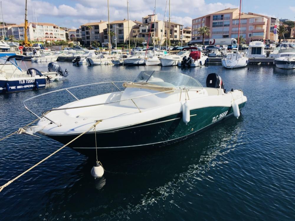 Boat rental Sanary-sur-Mer cheap Cap Camarat 7.5 WA
