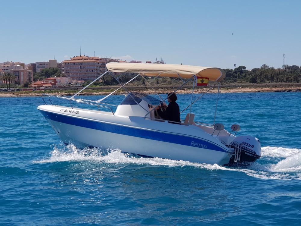 Boat rental Cabo Roig cheap Remus 550