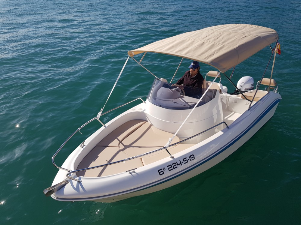 Sessa Marine Remus 550 between personal and professional Cabo Roig