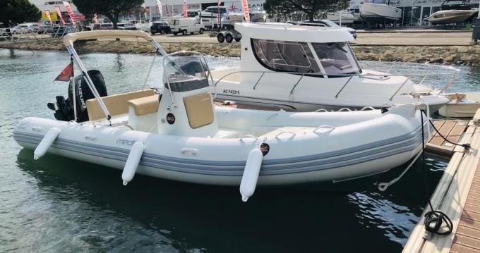 Location bateau Zodiac Medline 660 à Arcachon sur Samboat