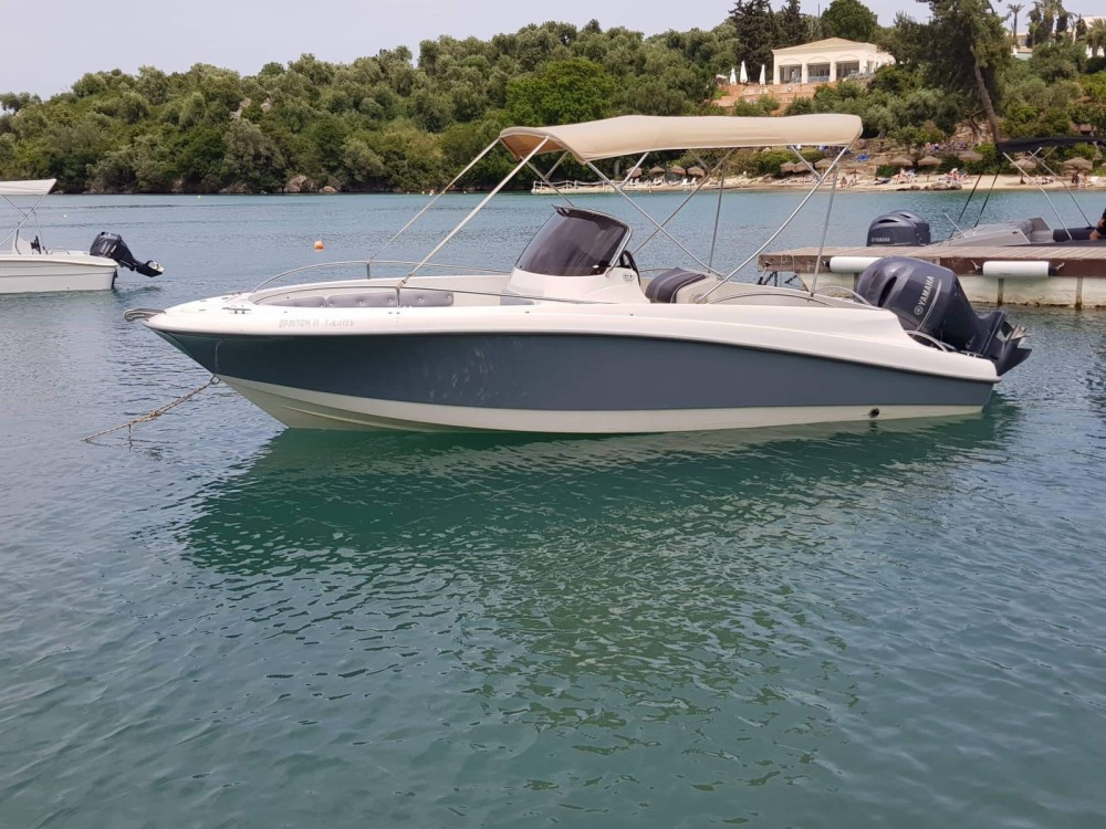 Boat rental Corfu cheap ocean craft 22