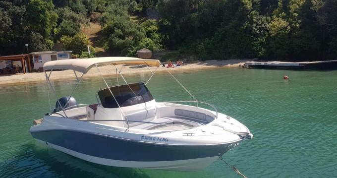 Location Bateau à moteur à Corfou - Blu-Blu ocean craft 22