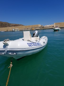 Louer Semi-rigide avec ou sans skipper Bwa à Castellammare del Golfo