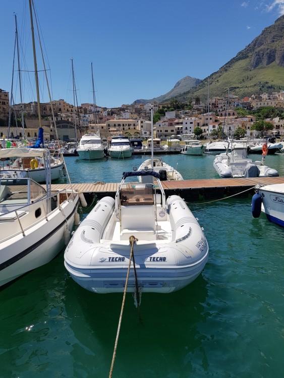 Hire RIB with or without skipper Tecno  Castellammare del Golfo