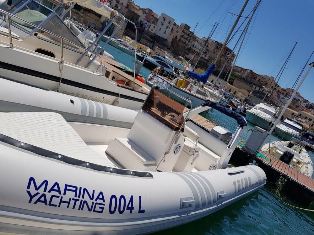 Rental yacht Castellammare del Golfo - Tecno  Tecno 720 on SamBoat
