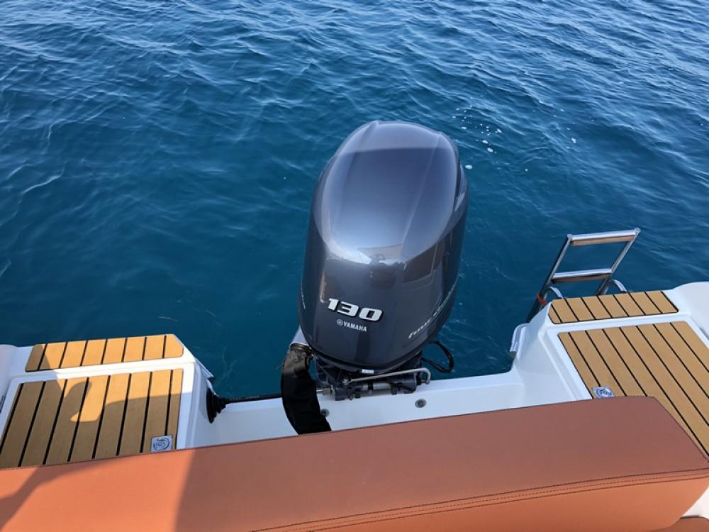Boat rental Poreč cheap Barracuda 545 Open