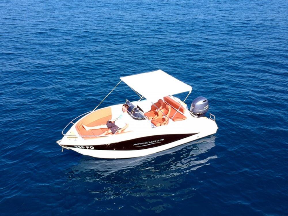 Hire Motor boat with or without skipper Okiboats Poreč