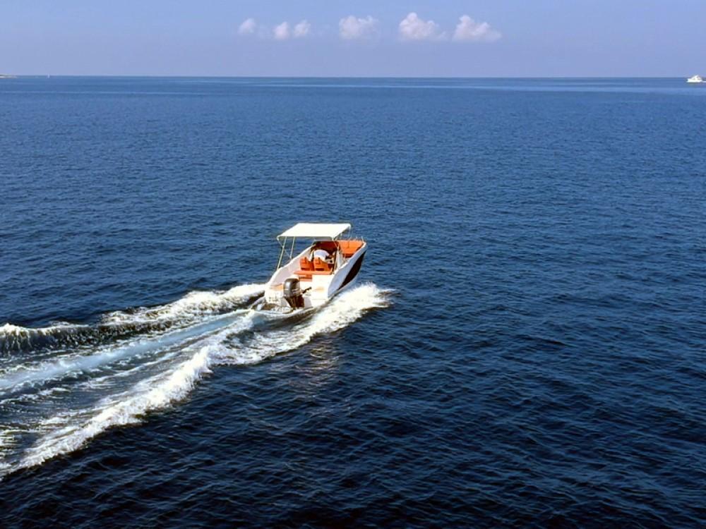 Boat rental Okiboats Barracuda 545 Open in Poreč on Samboat