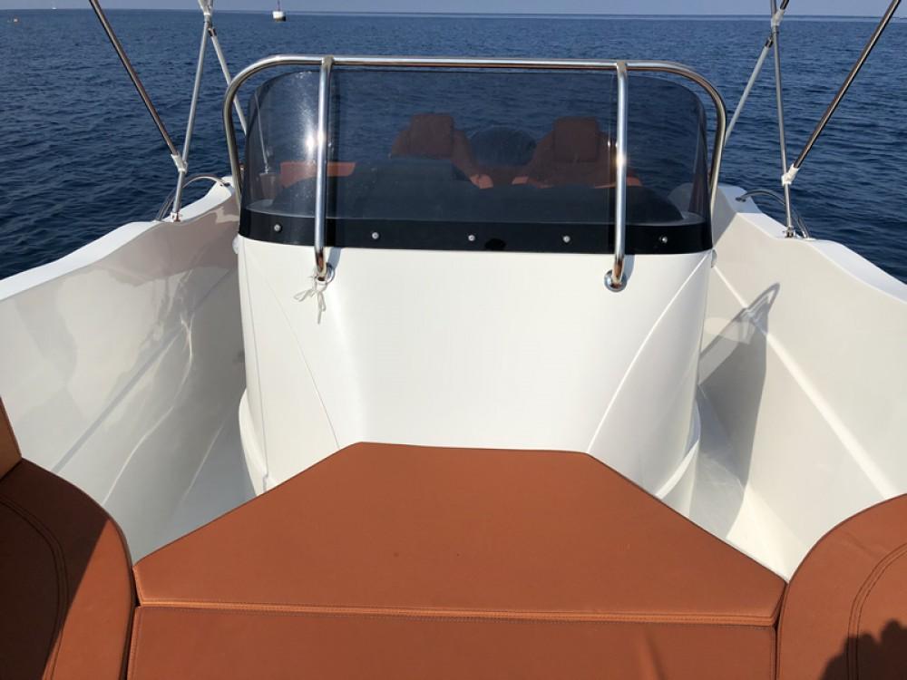 Rental Motor boat in Poreč - Okiboats Barracuda 545 Open